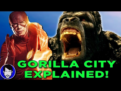 Gorilla City Explained - The Flash Season 3