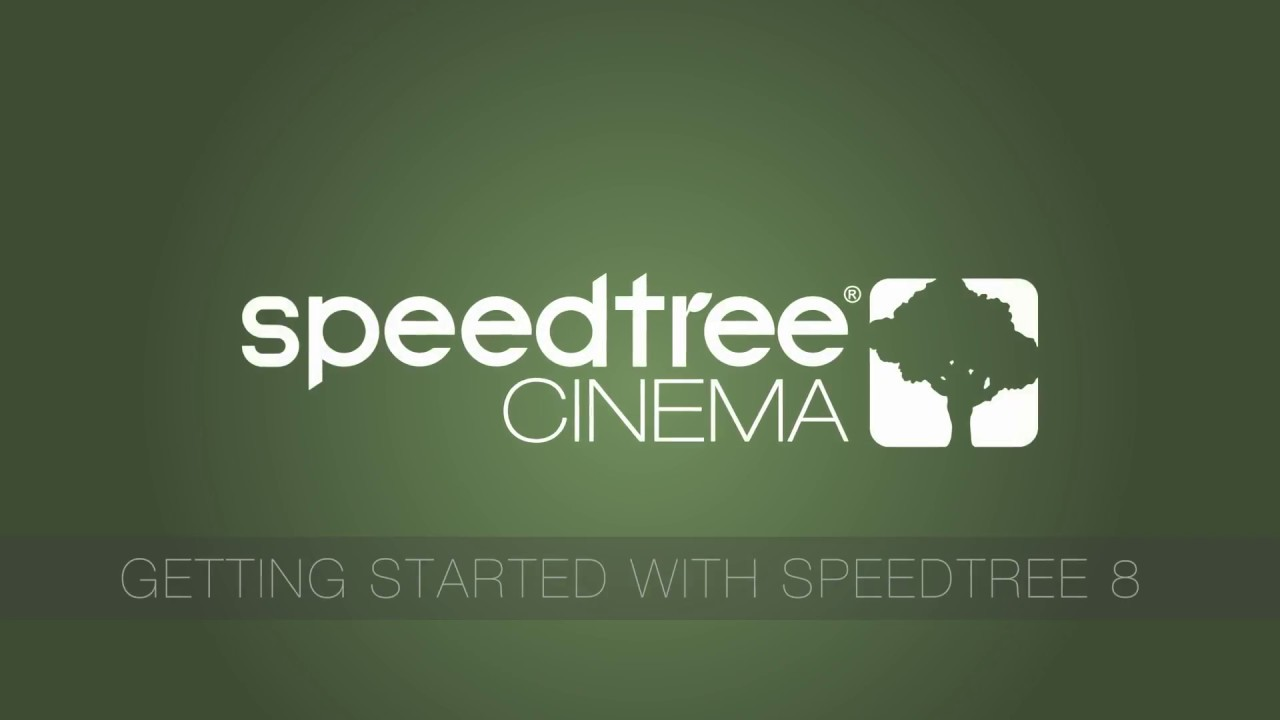 SpeedTree Cinema 8: Getting Started - YouTube