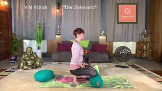 """Der Zehensitz"" Yin Yoga"