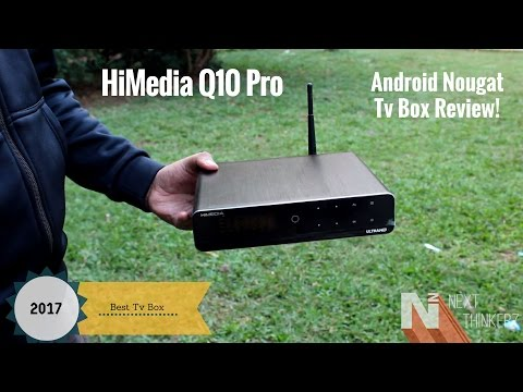 HiMedia Q10 Pro Review With Unboxing | Runs On Android Nougat 7.0 TV Box[4K].