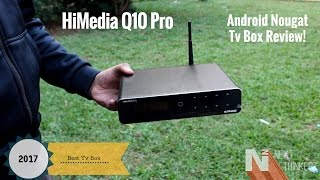 himedia q10 pro review with unboxing   runs on android nougat 7 0   india