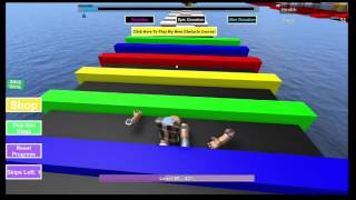 ROBLOX: [Mega Fun Obby] OBSTACLE COURSE - 605 STAGES!