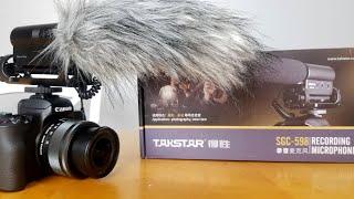 Takstar SGC-598 Shotgun Microphone Unboxing and Review. Rode Mic Killer