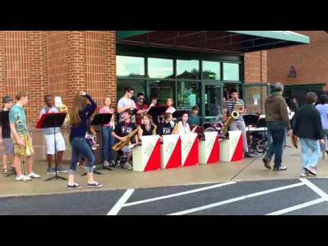 2013 Hempfield Jazz Band Honk Pre Barnstormers Game 5