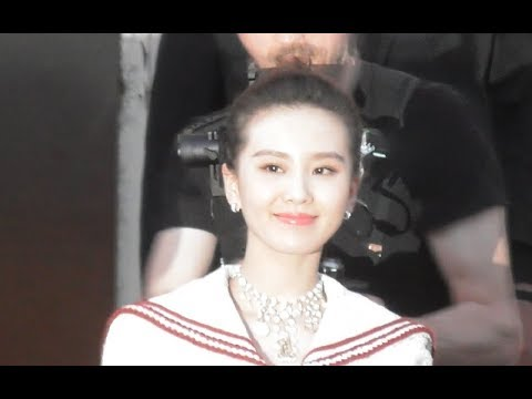 Liu Shishi 刘诗诗 Cecilia Liu @ Paris 3 may 2018 Chanel Cruise Fashion show / mai