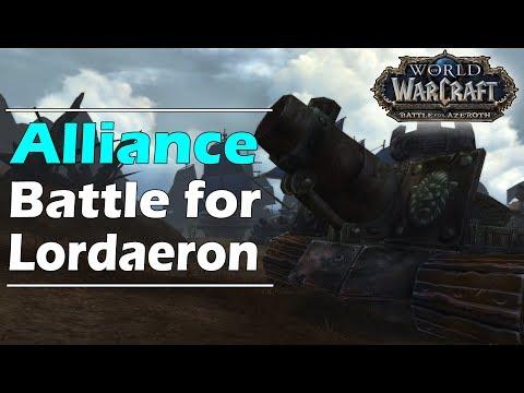 BATTLE For LORDAERON (Alliance Side Scenario - BFA Alpha) !!