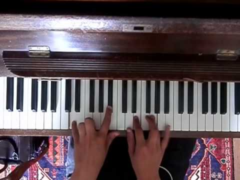 When She Loved Me piano tutorial
