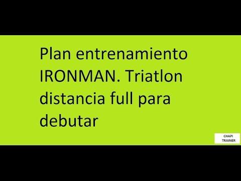 como hacer un plan de entrenamiento para triatlon