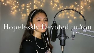 Hopelessly Devoted to You (Cover) || Kylie