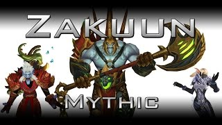 [Mythic] Last Line of Defence vs Zakuun (Hunter/Mage POV)