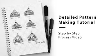 Detailed Pattern Making Tutorial || Step by Step Process Video