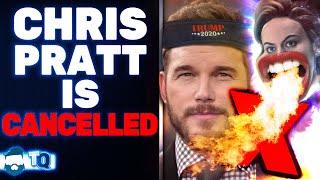 Far Left CANCEL Chris Pratt For Not Shilling For Biden & Going To Church