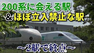 【2駅で終点】利府線 岩切始発利府行きに乗車!