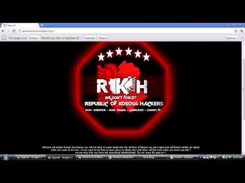 WWW.ARHIVSUMADIJA.ORG.RS HACKED BY REPUBLIC OF KOSOVA HACKERS