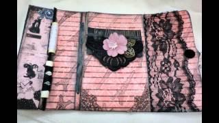 "Tsunami Rose Designs - ""parisian Daydream"" Sewing Box"
