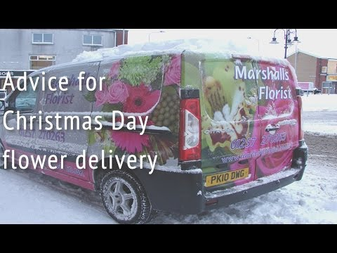 Christmas Day flowers delivery and inspiration - Marshall's Florist, Chorley, UK