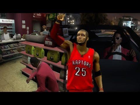 NBA 2k14 MyCareer | OJ's Way | The Corner Store Robbery | Spurs Overtime CrunchTime