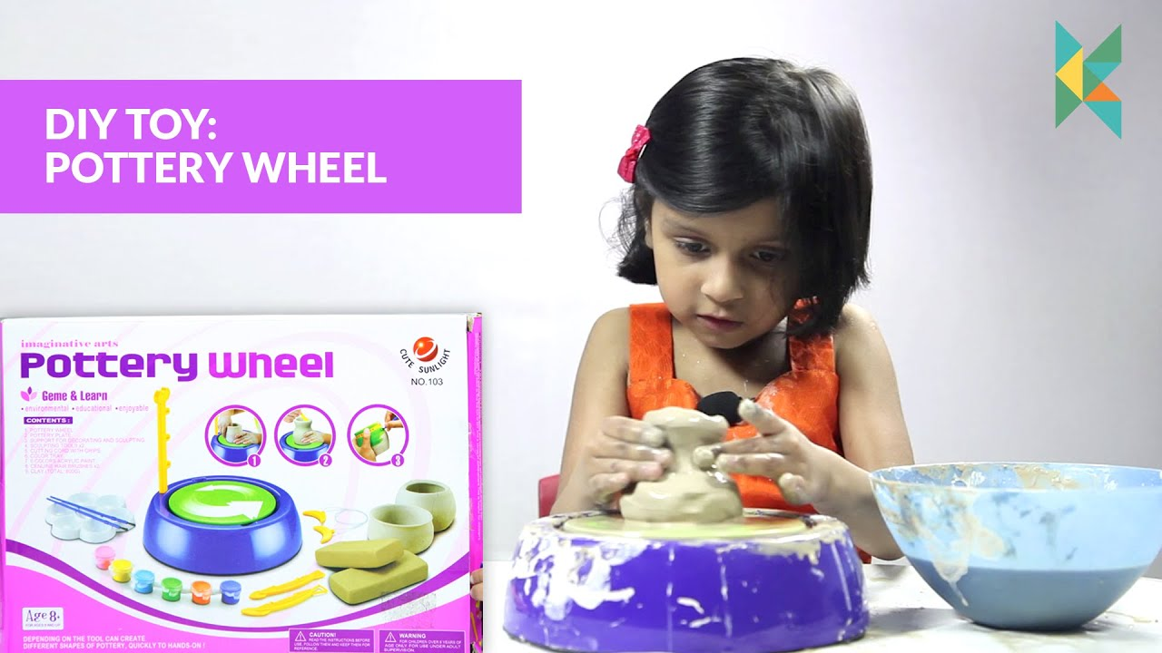Imaginative Arts POTTERY WHEEL Game Learn How to Educational Toy