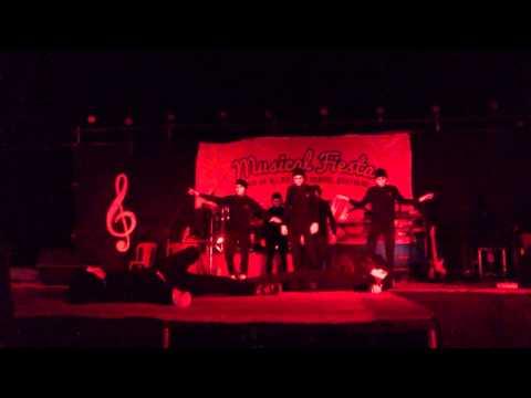 The Jabba Masked Robots Cortalim Youth) Cortalim Musical Fiesta 2013