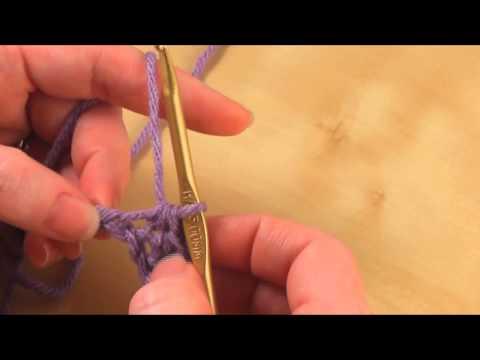 How to: Half Double Crochet (hdc)