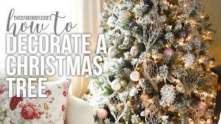 How to Decorate a Christmas Tree // CHRISTMAS DIY + DECOR CHALLENGE