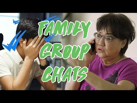 Why Family Groups Chats Are Horrible!