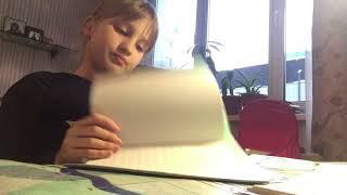 Как проходит мой вечер после школы|Как я делаю уроки|😊