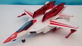 TRANSFORMERS JETFIRE LEADER CLASS GENERATIONS VIDEO TOY REVIEW