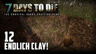 7 Days to Die [12] [Endlich Clay] [Double Team] [Let's Play Gameplay Deutsch German HD] thumbnail