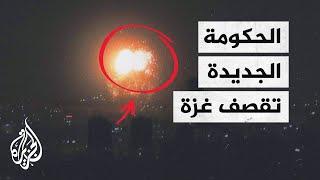 قصف إسرائيلي على غزة وحماس تصفه بأنه