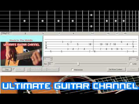 Guitar Solo Tab] Stuck In The Middle (Stealers Wheels) - YouTube