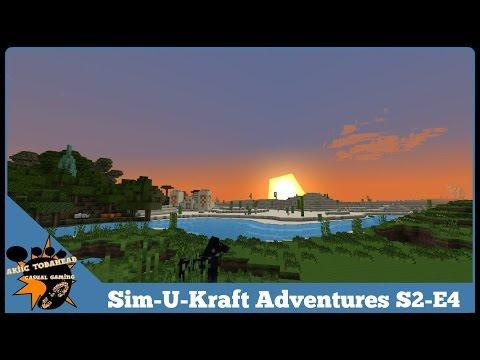 Akiic ToDaHead Plays Sim-U-Kraft Adventures S2E4- He Who Smelt(ed) It