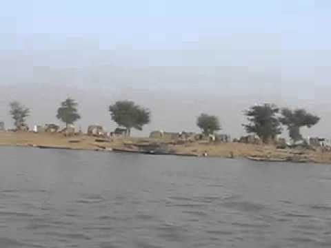village on the niger