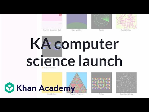 Khan Academy Computer Science Launch