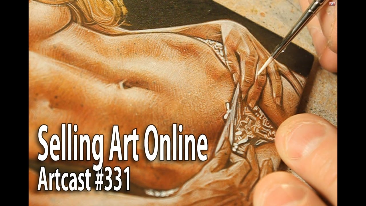 Selling art online viewer question youtube for Sell art prints online