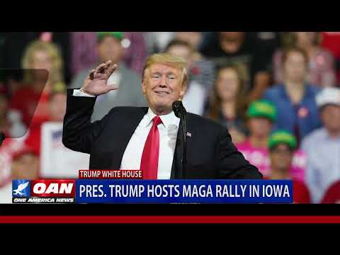 President Trump hosts MAGA rally in Iowa