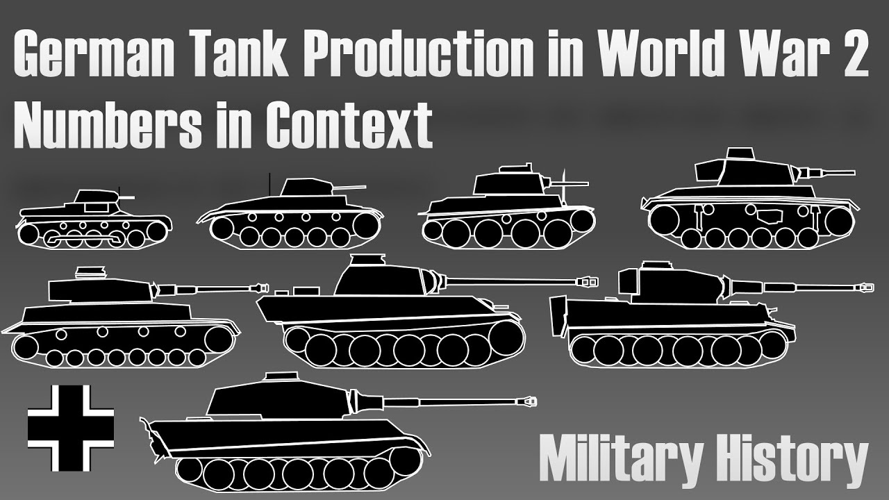 German Tank Production in World War 2 - Military History