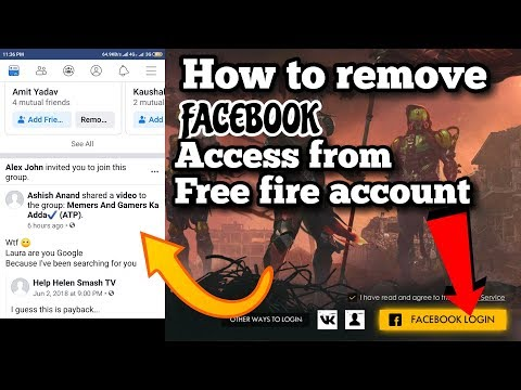 FREE fire game FACEBOOK se LOGIN kaise kare | How to login free fire