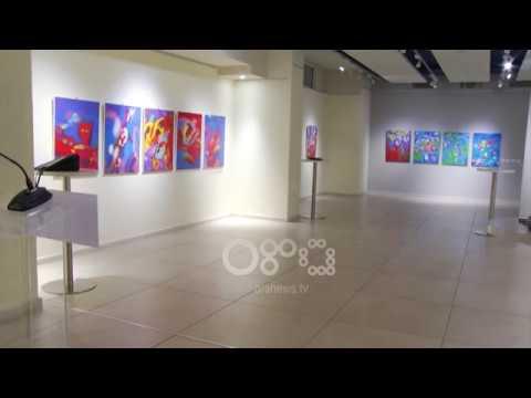 Ora News - Lule për Alisën, ekspozita e parë e piktorit Leon Çika
