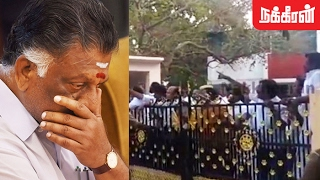 Sasikala's supporters attack OPS House after E Palaniswami sworn as CM
