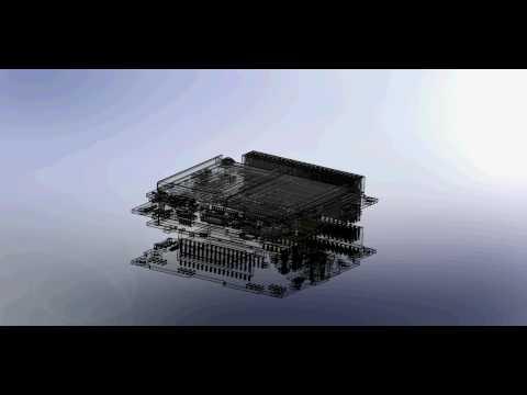 black knight satellite i solidworks animation youtube