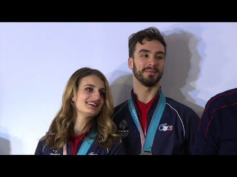 JO-2018 - L'or se dérobe sous les patins de Papadakis et Cizeron