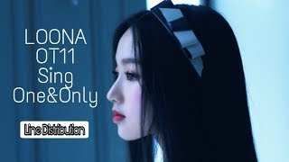 How would LOONA OT11 Sing One&Only (GoWon from LOONA) | Line Distribution - Stafaband