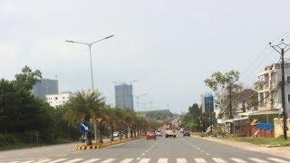 Sihanouk vill city 2018, Cambodia | highway and skyline