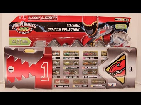 Dino Charger Ultimate Charger Collection Review [Power Rangers Dino Charge]