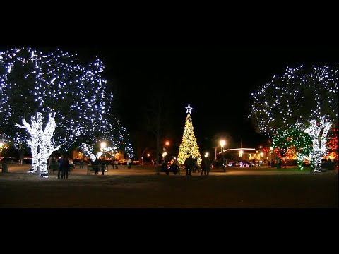 Fredericksburg Texas Christmas Lights Youtube