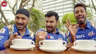Mumbai Indians Vs SunRisers Hyderabad connected by Jio Digital Life