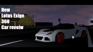 Lotus Exile 360 car review (roblox ultimate driving)