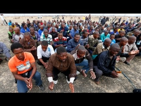 Afrique du Sud: poursuite de la grève à la mine de Marikana