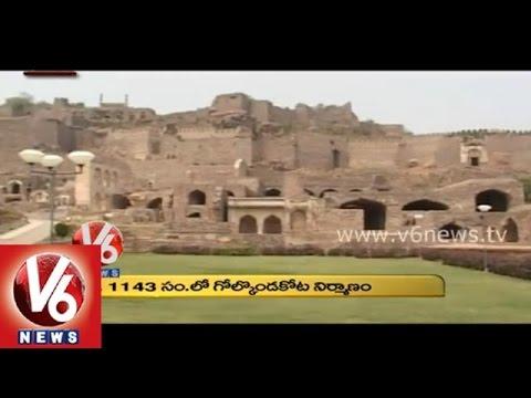 Golkonda Fort And Glory || Hyderabad Shaan || V6 News